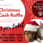 Christmas Cash Raffle 2019!