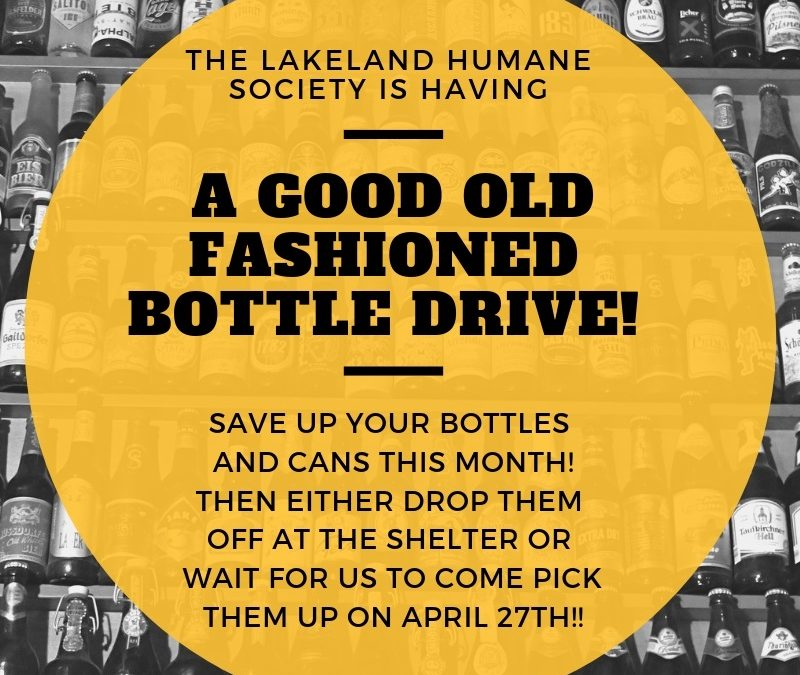 LHS Bottle Drive!