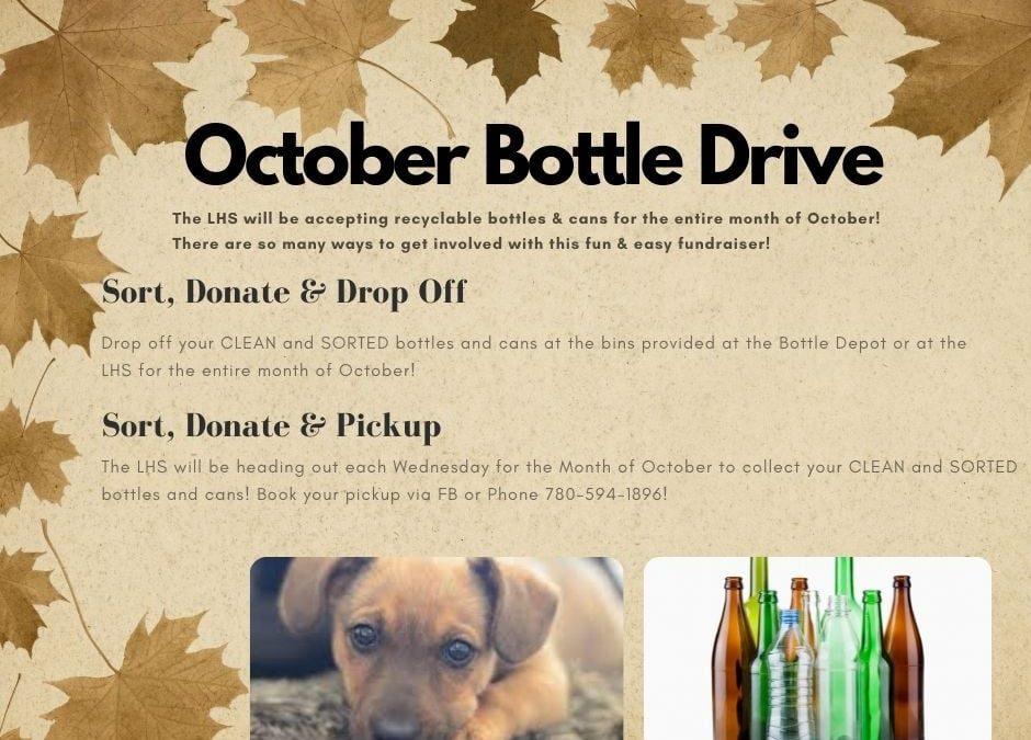 October Bottle Drive